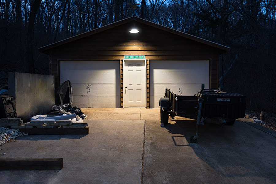 Run Underground Power to a Shed